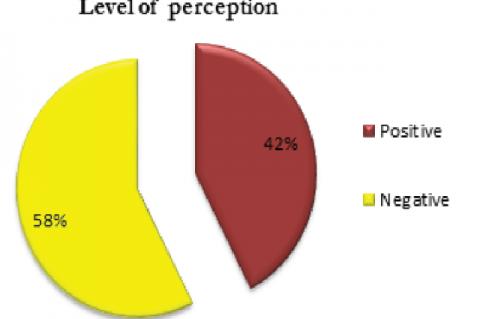 Level of perception regarding COVID 19
